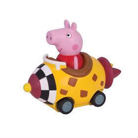 Peppa Pig Mini Buggies - Peppa Pig in Yellow Rocket