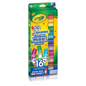 Crayola Pip Squeaks Washable Broad Line Markers, 16 Ct