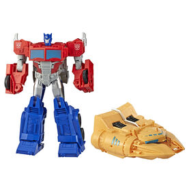 Transformers Cyberverse Spark Armor, figurine Optimus Prime Puissance de l'arche.
