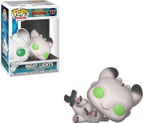 Funko POP! Movies: How To Train Your Dragon 3 - Night Lights (White) Vinyl Figure