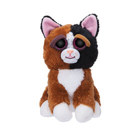 """Feisty Pets 10"""" Plush - Mary Monstertruck Calico Cat"""