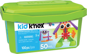 Kid K'Nex Budding Builders Tub
