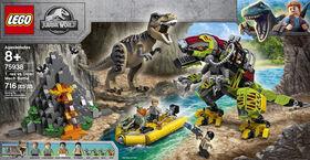 LEGO Jurassic World La bataille du T rex contre le Dino-Mec 75938