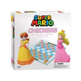 Jeu Super Mario Checkers Princess Power Edition