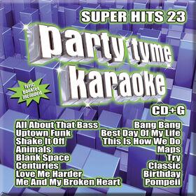 CD-Karaoke Super Hits 23