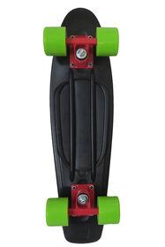 """Sport Runner 225"""" Solids Skateboard - Black"""