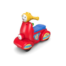 Fisher-Price Laugh & Learn Smart Stages Scooter - French Edition