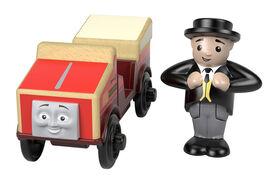 Fisher-Price Thomas & Friends Wood Winston Rail Car
