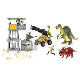 Animal Planet Spinosaurus Tower Mega Playset
