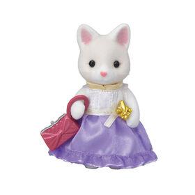 Calico Critters - Town Girl Series-Lulu Silk Cat