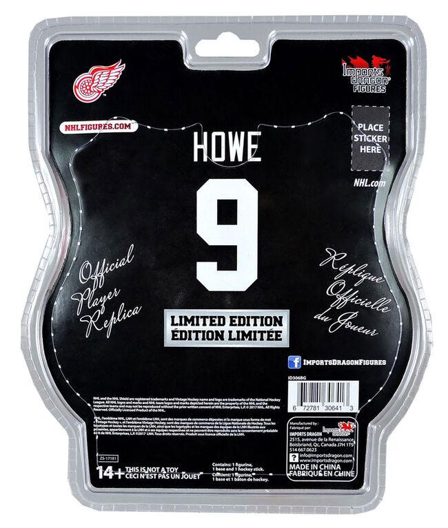"""Gordie Howe Detroit Red Wings NHL Legend 6"""" Figure"""