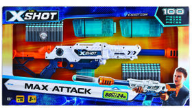 X-Shot Excel Max Attack Ultimate Combo Foam Dart Blaster
