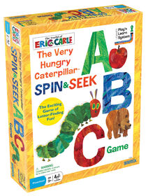 Very Hungry Caterpillar Spin Seek ABC Game