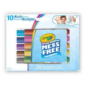 Color Wonder 10ct Mini Markers Classic