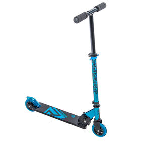Huffy Prizm Folding 100mm Inline Scooter, Blue