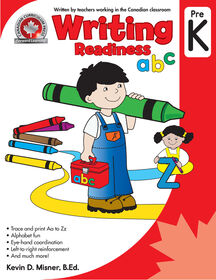 Pre K Writing Workbook