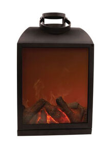 Sharper Image Flameless Fireplace LED Lantern - Non Heated