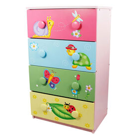 Fantasy Fields - Magic Garden 4 Drawer Cabinet with 8 Handles
