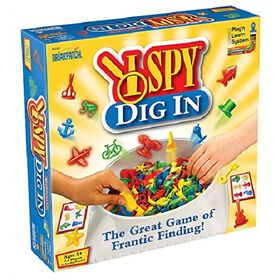 University Games - I Spy Dig In Game