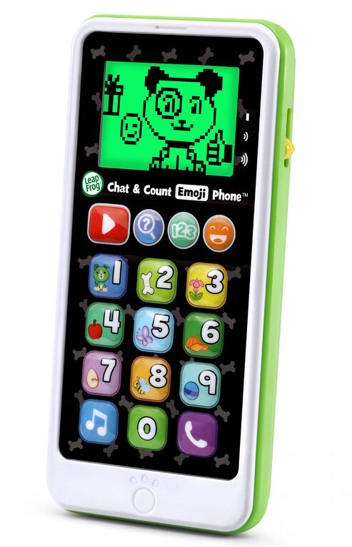 LeapFrog Chat & Count Emoji Phone - Green - English Edition