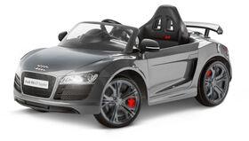 Porteur Audi R8 Spyder GT de 6V - Gris.