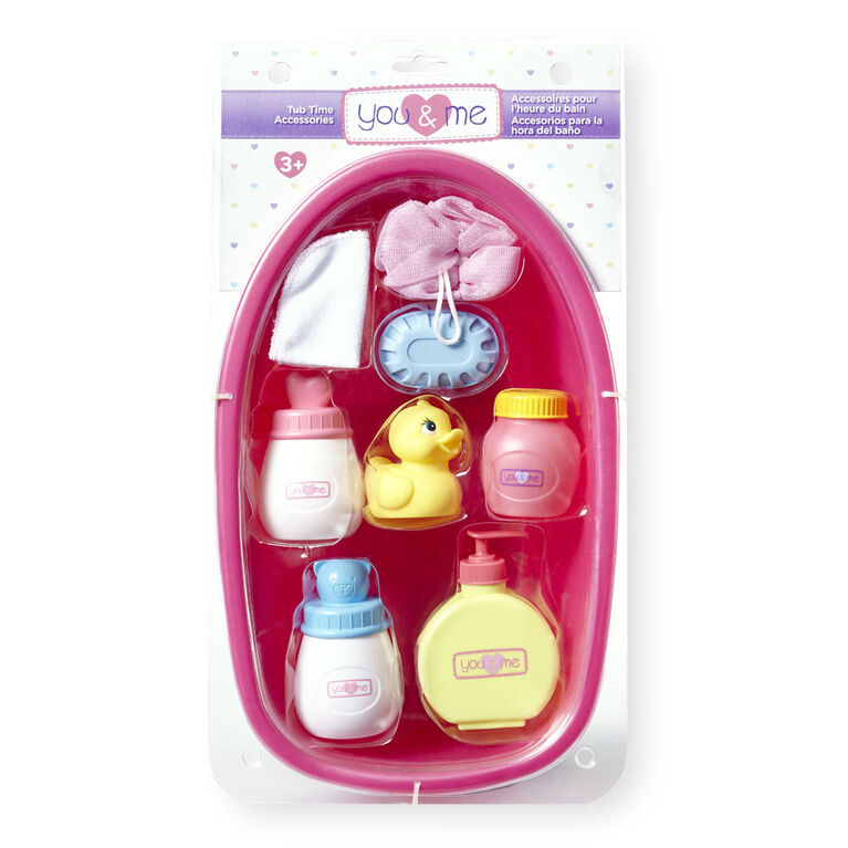 You & Me Tub Time Accessories