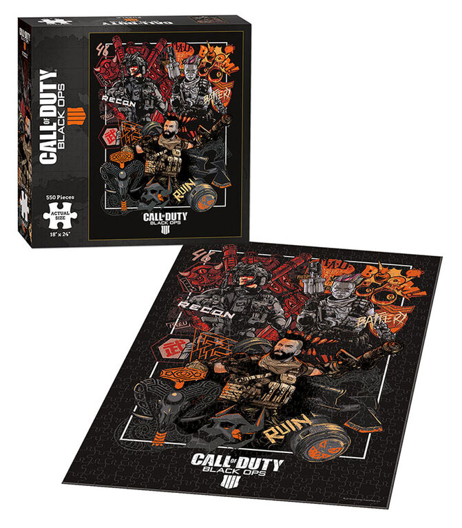 "Call of Duty Black Ops 4 ""Specialist"" 550 Piece Puzzle"