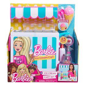 Barbie Ice Cream Cart Set