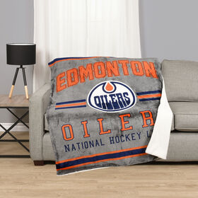 NHL Team Throw - Edmonton Oilers