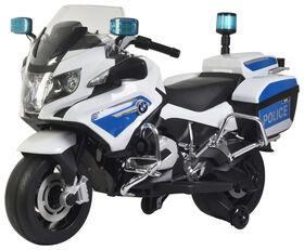 BMW Police Bike White 12V