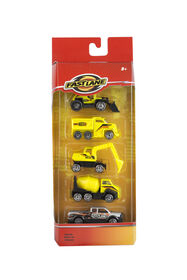 Fast Lane - Construction Vehicles 5 Pack