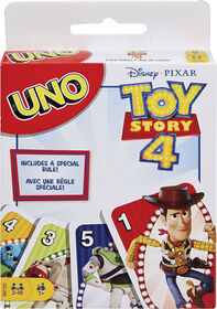 Disney Pixar Toy Story 4 UNO Card Game - English Edition