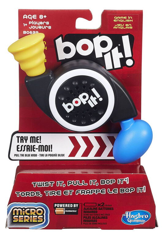 Hasbro Gaming - Bop It! Micro Series Game - English Edition