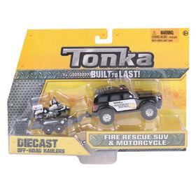 Tonka Highway Patrol with Motorcycle