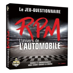 RPM L'univers de l'automobile Game - French Only