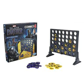 Hasbro Gaming Connect 4 Game: Black Panther Edition
