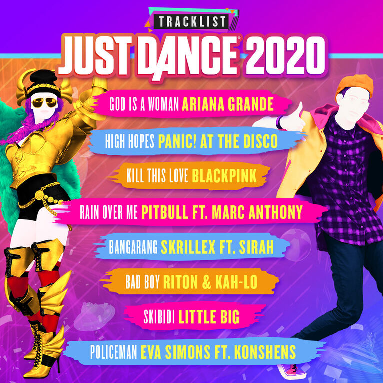 Just Dance 2020 - Nintendo Switch - Pre-order Now! Estimated Ship date: Nov 5th, 2019