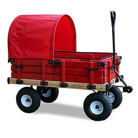 Millside - Classic Wagon 20 inch x 38 inch with Pad and Canopy