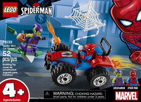 LEGO Super Heroes Spider-Man et la course poursuite en voi 76133