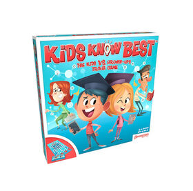 Pressman Toys: Kids Know Best Game - English Edition