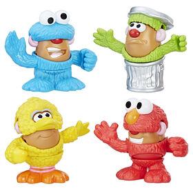 Playskool Friends Mr Potato Head Sesame Street Spuds Mini Container
