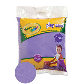 Crayola - 9 Kg Coloured PlaySand - Purple