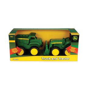 John Deere - 6 inch Truck and Tractor Vehicle 2-Pack