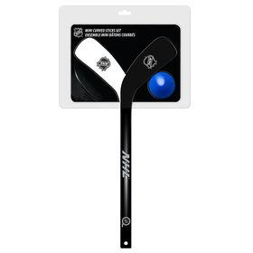 NHL - Mini Curved Hockey Stick Set - 2 Players Sticks