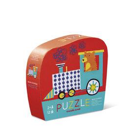 Crocodile Creek - Bear Express 12 piece Jigsaw Puzzle