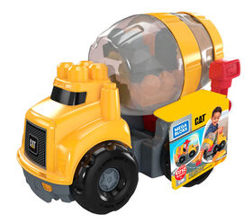Mega Bloks CAT Cement Mixer