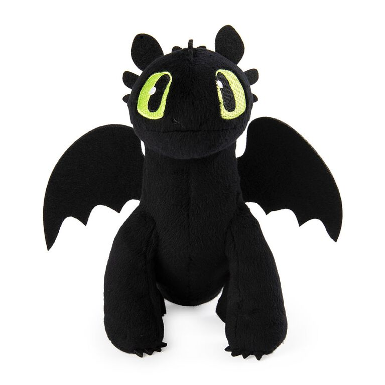 How To Train Your Dragon, Toothless 8-inch Premium Plush Dragon