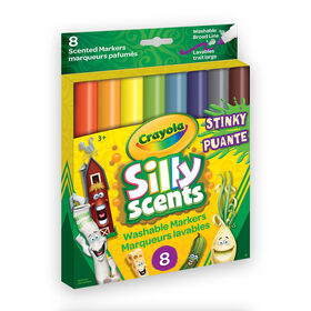 Crayola - Stinky Scents Washable Broad Line Markers, 8 ct
