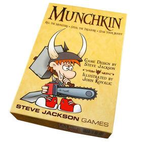 Jeu des cartes de Munchkin