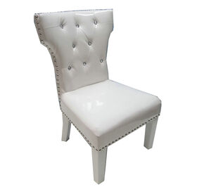 White Chair with Studs